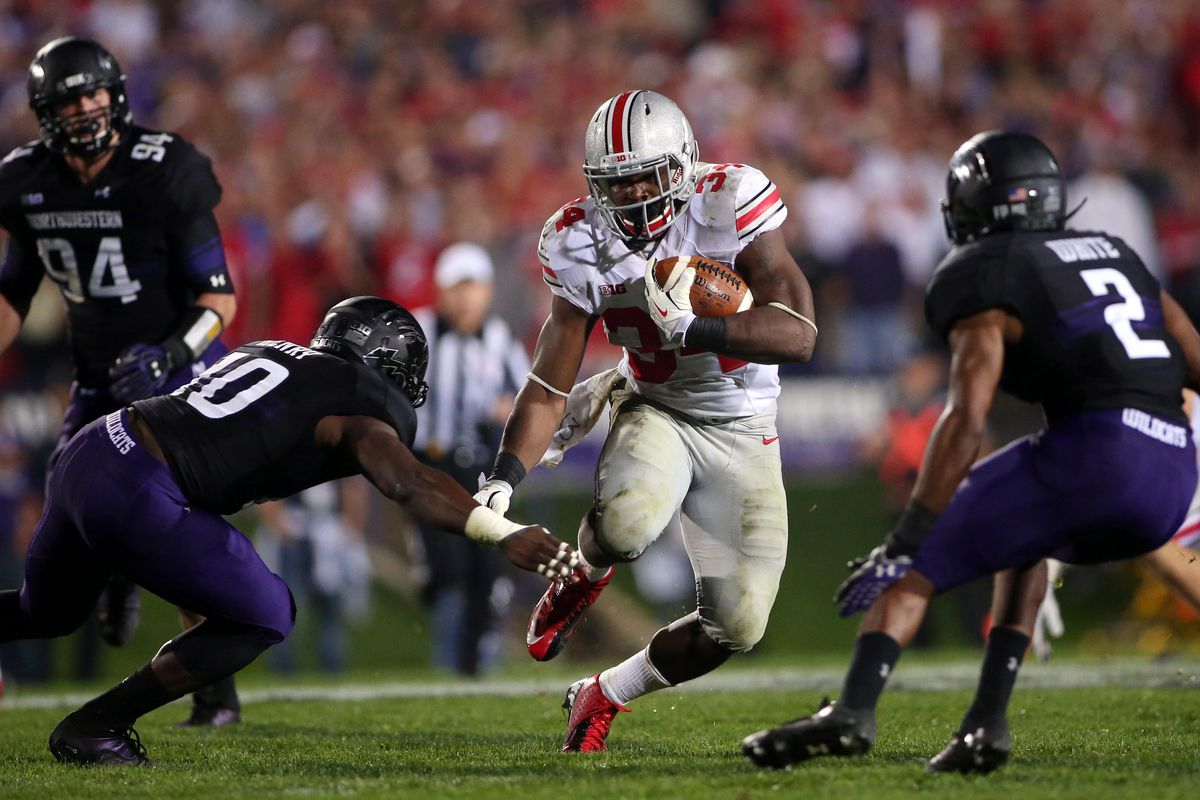 The Buckeyes fended off Northwestern to hold onto their spot in the rankings.