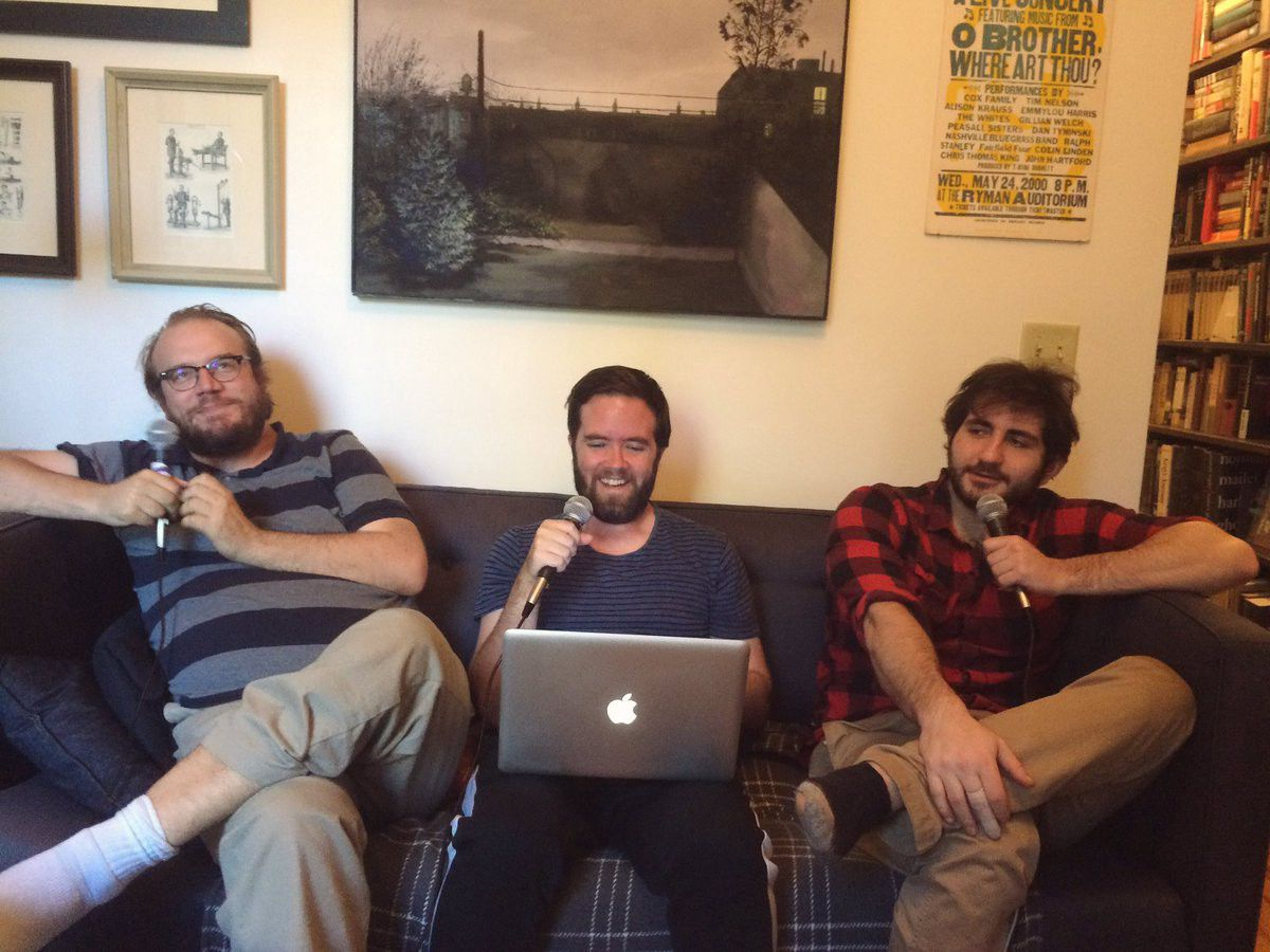 "Matt Christman, Will Menaker, and Felix Biederman of 'Chapo Trap House' (via<a href=""https://twitter.com/chapotraphouse/status/786299900212445184"">Twitter</a>)"