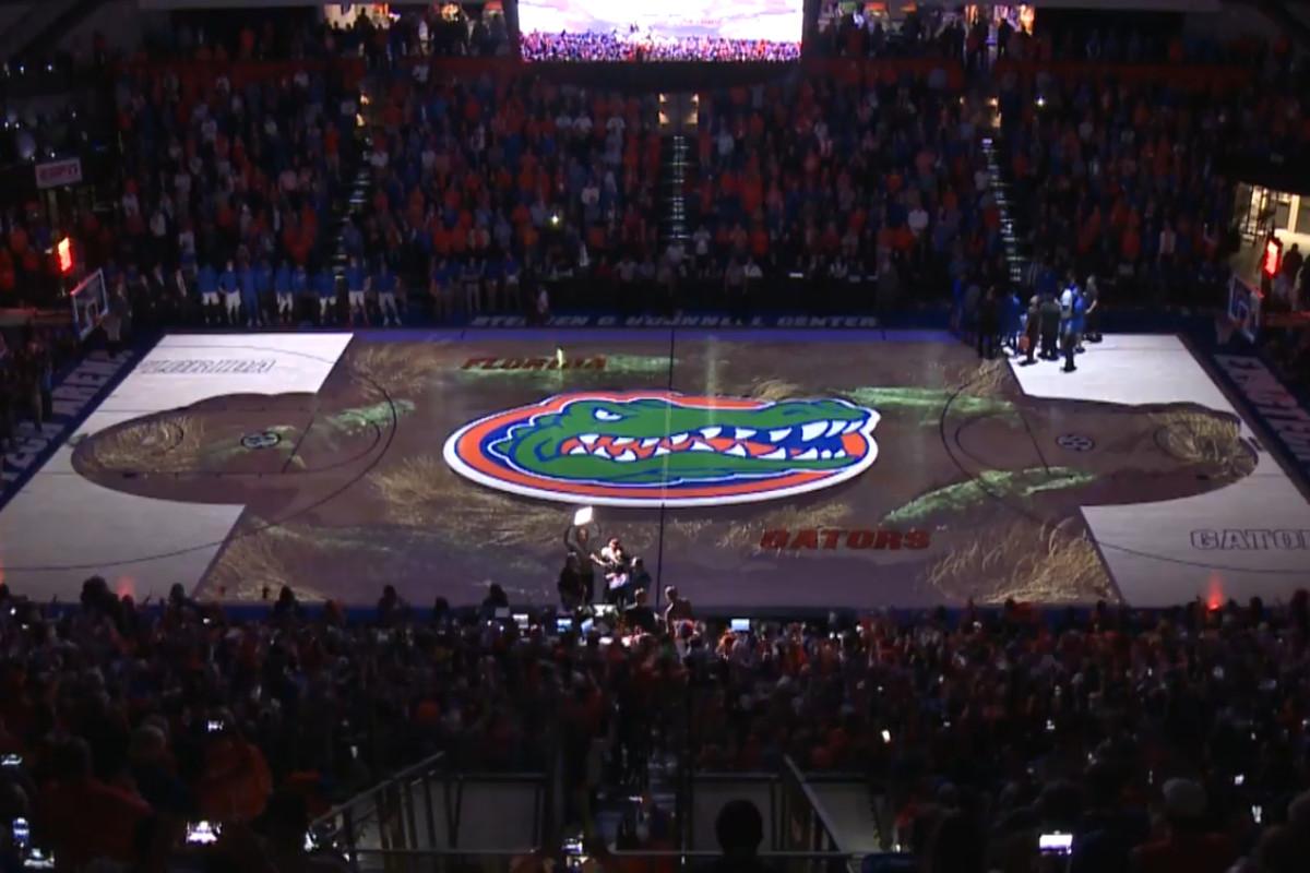 Video Florida Debuts 3 D Floor Projections For Kentucky