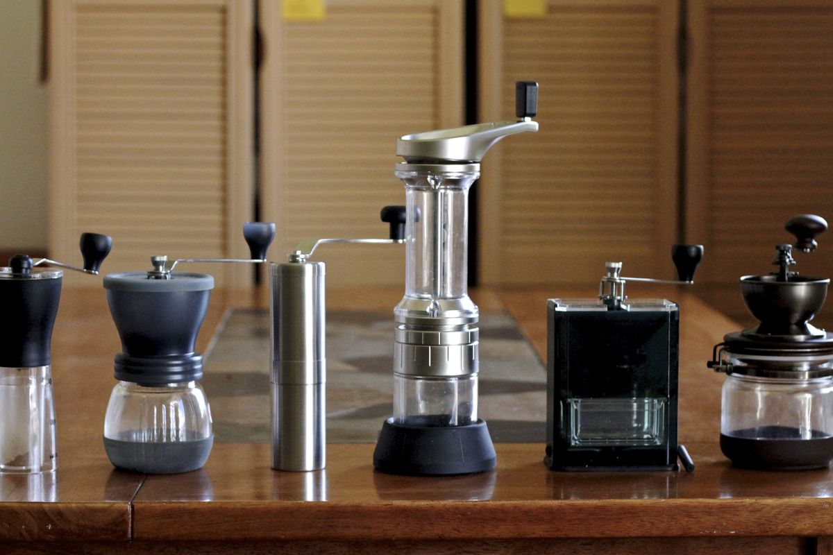 Gadget Review Six Of The Best Hand Coffee Grinders Eater Rok Presso Manual Espresso Maker Classic Matthew Kang