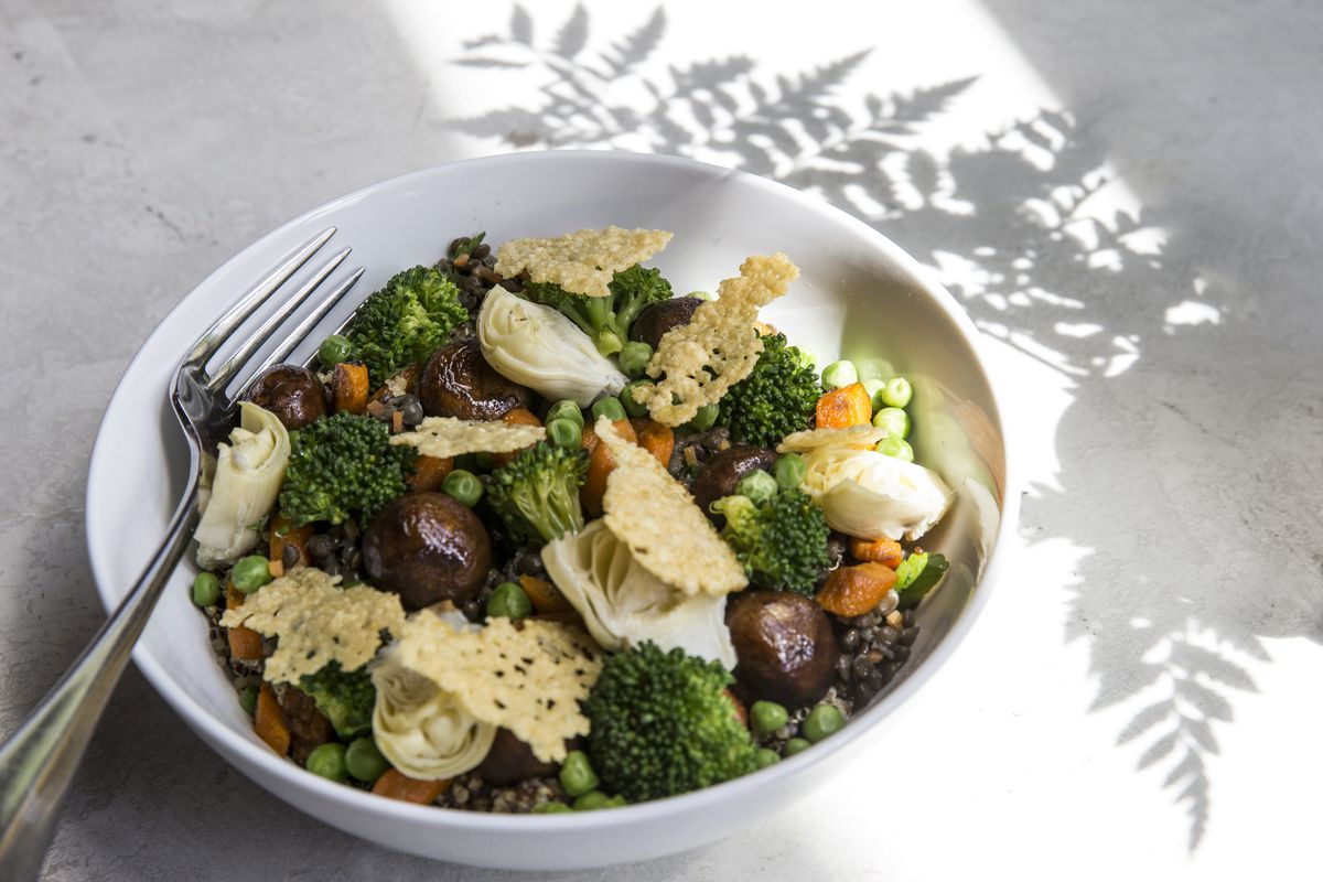A vegetable bowl at Prima in Bethesda, Michael Schlow's first fast-casual restaurant