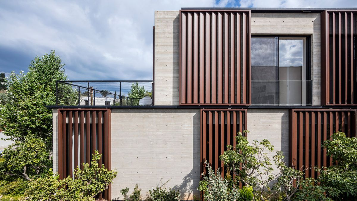 Brutalist Inspired Concrete House Rises In Tel Aviv Curbed