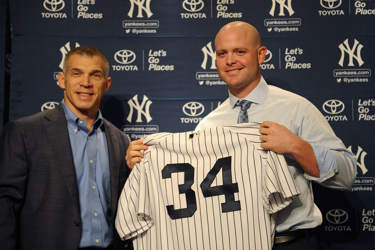 New York Yankees Introduce Brian McCann