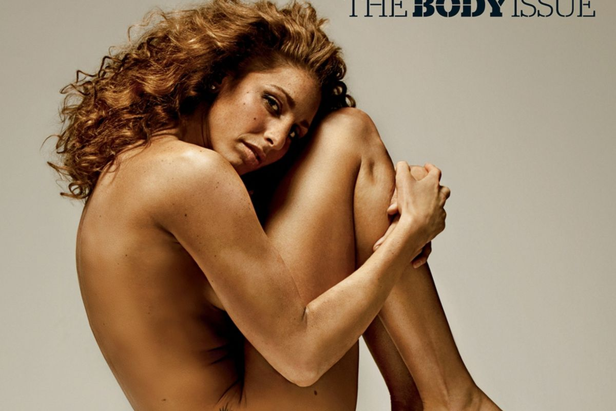 Diana Taurasi showing off her World Championship body for ESPN The Magazine.