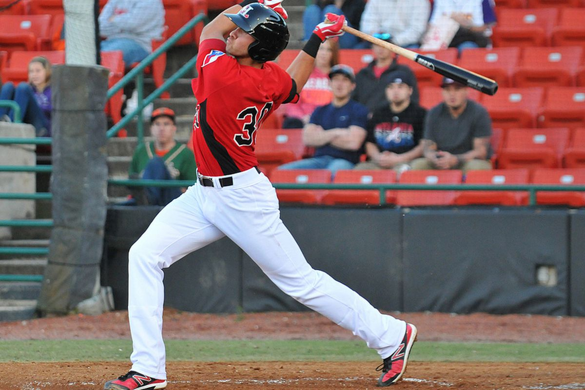 The minor league leader in most offensive categories, Joey Gallo