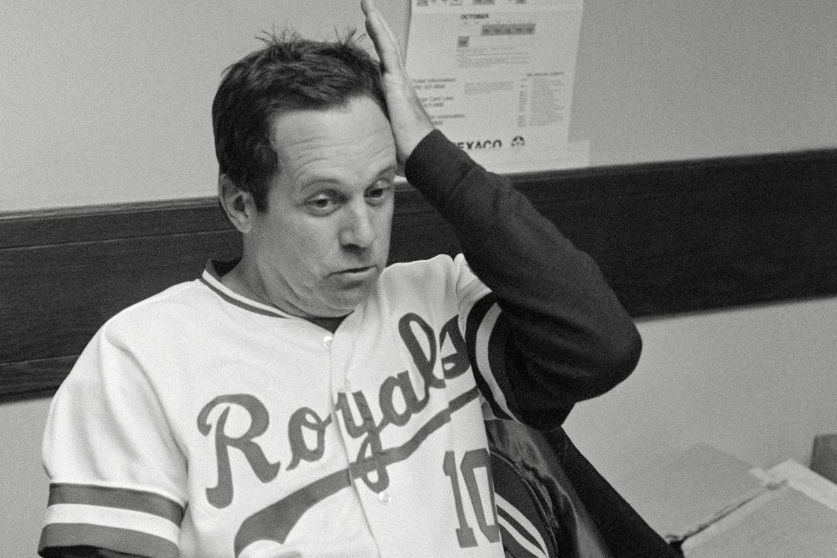 Dick Howser After Losing World Series