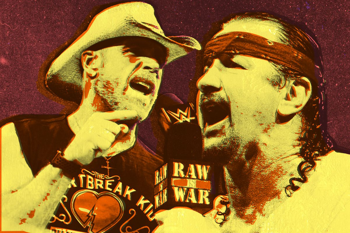 Terry Funk and Shawn Michaels