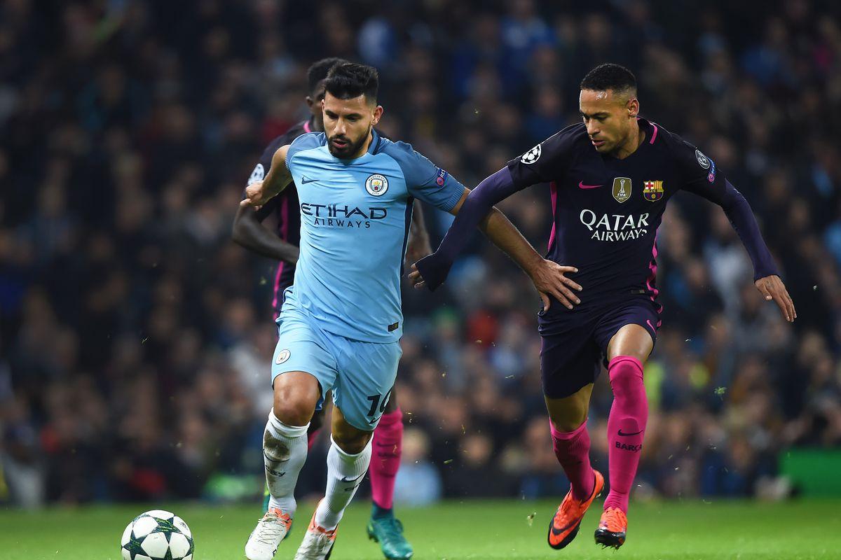 Manchester City FC v FC Barcelona - UEFA Champions League