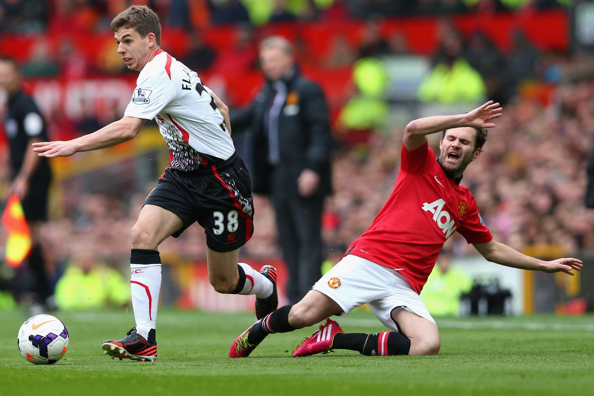 The ghost of David Moyes was scaring nobody as Flanno realised that poor Juan simply didn't Mata...(I'm so sorry)