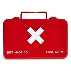 """Best Made Co. <a href=""""http://shop.nordstrom.com/s/best-made-co-small-metal-first-aid-kit/3788022?"""">Small Metal First Aid Kit</a>, $48"""