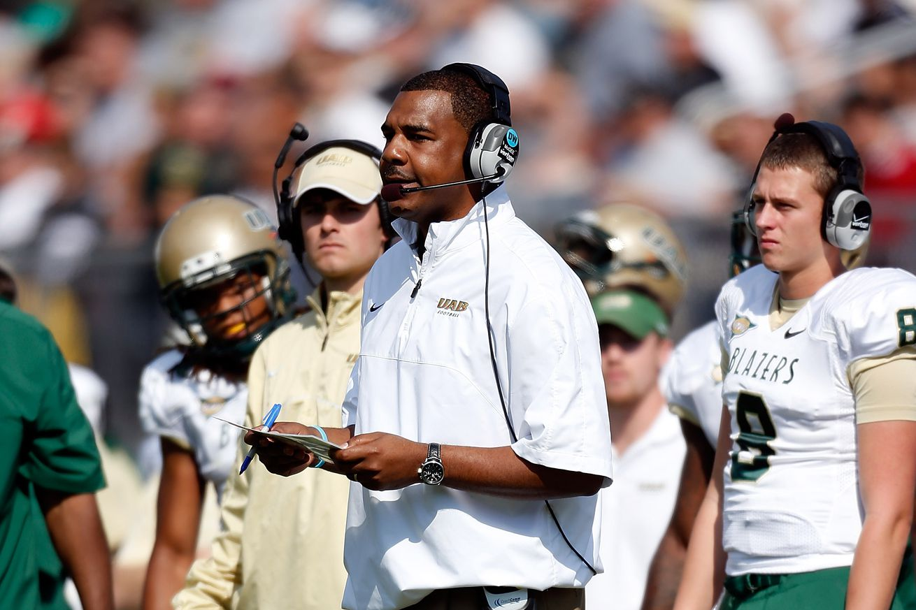 McGee was formerly the head coach of UAB, among other stops.