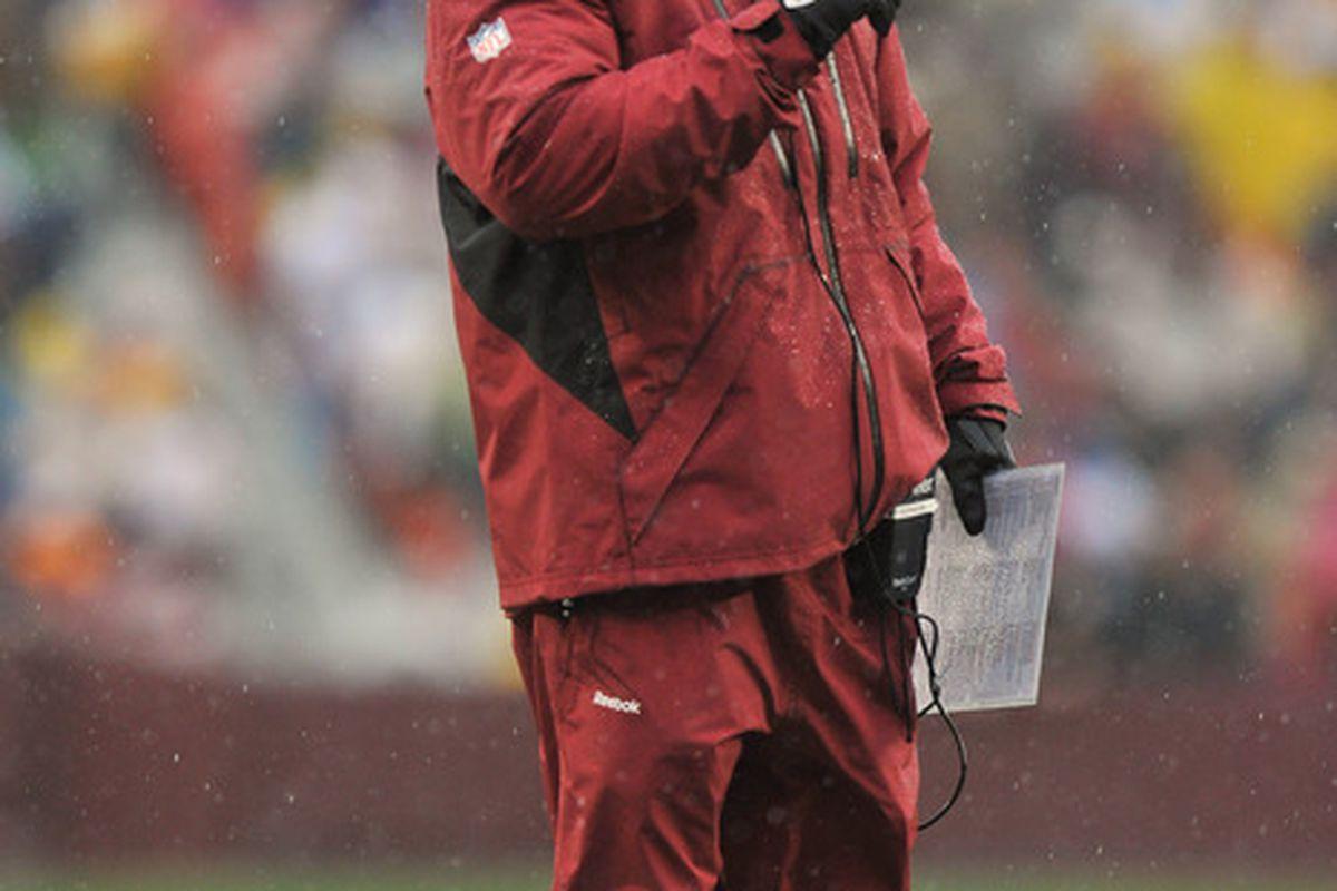 When it rains, it pours at Redskins Park.