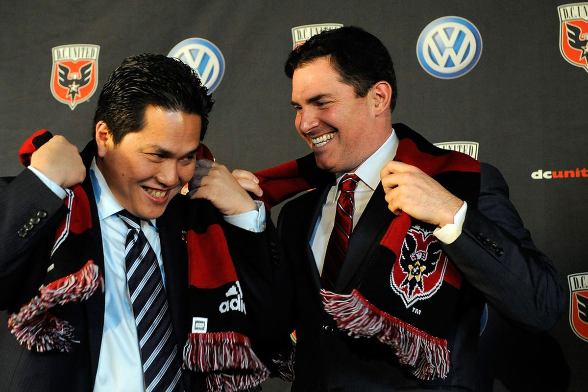 Erick Thohir and Jason Levien are apparently, reportedly, satisfied with Dave Kasper's performance.