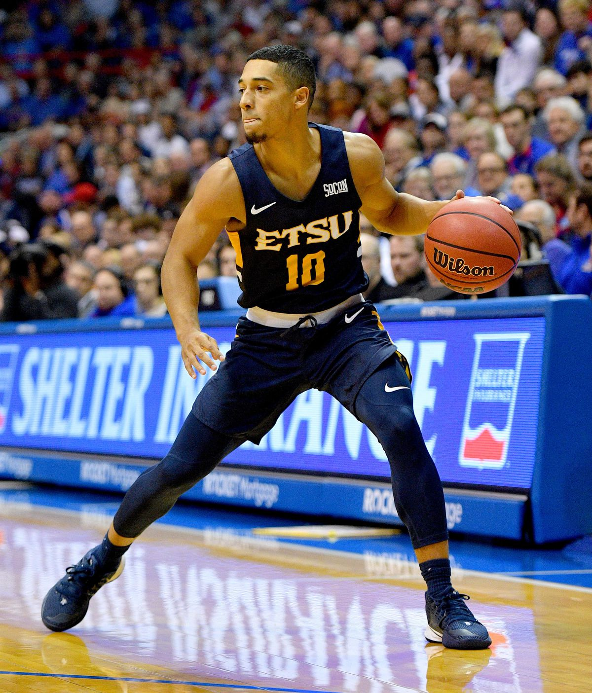 NCAA Basketball: East Tennessee State at Kansas