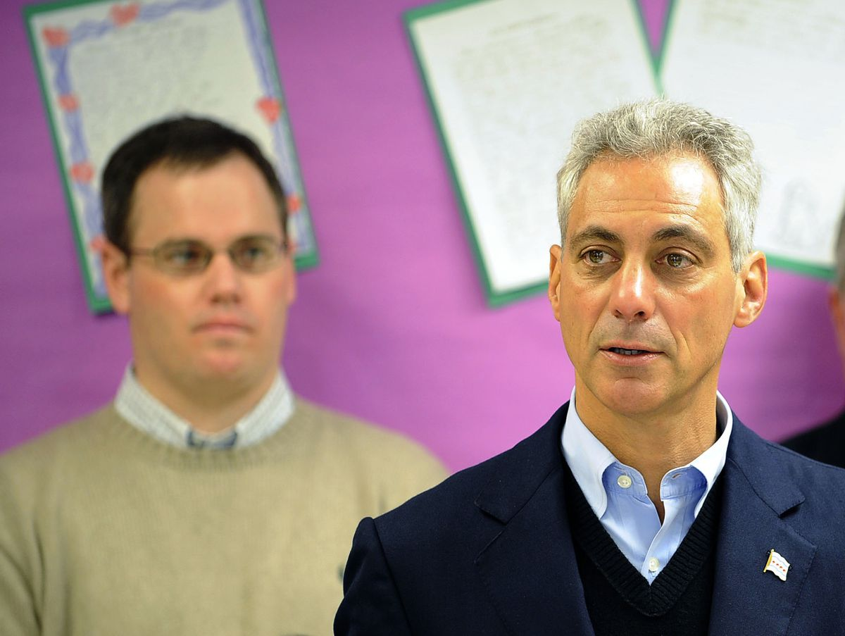 Former City Council Inspector General Faisal Khan alleges that the office of Mayor Rahm Emanuel intervened to approve a purchase by Ald. Marty Quinn (13th) (left) that is prohibited by city regulations. | Sun-Times