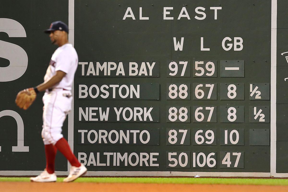 New York Yankees Vs. Boston Red Sox at Fenway Park
