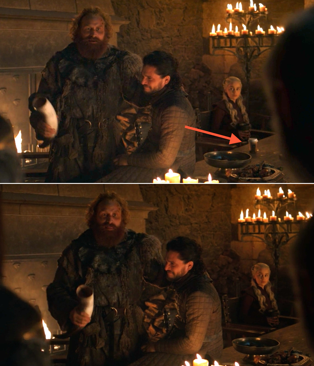 coffee cup in game of thrones removed