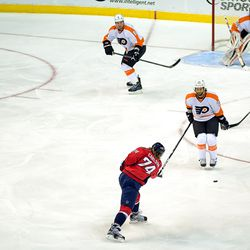 Talbot Stands in Carlson's Lane