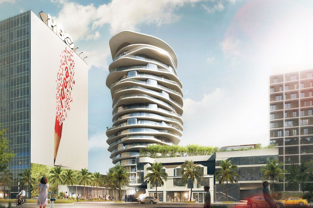 Sunset Strip Could Get A Whimsical 19 Story Hotel Tower