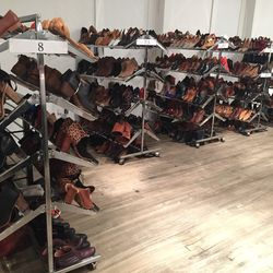 The shoe selection