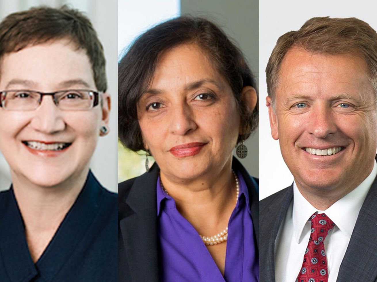The University of Utah announced the three finalists for its next president.