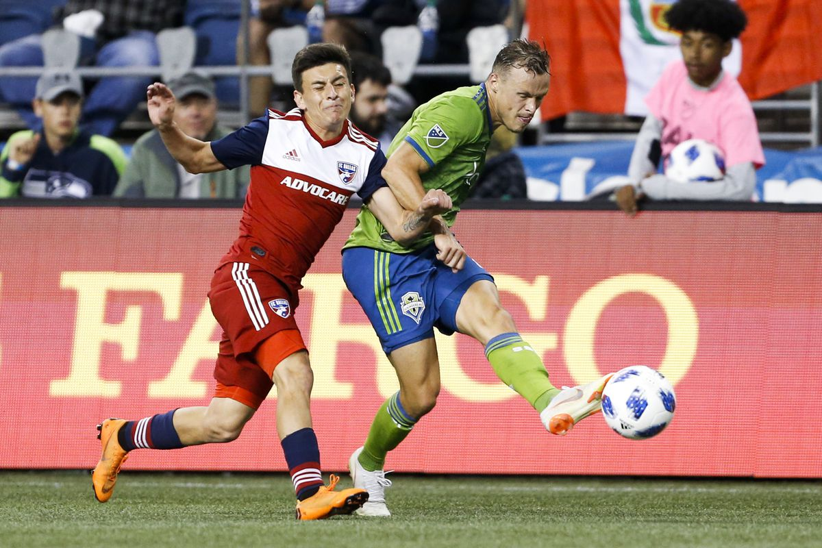 new style 078e6 d850a MLS  FC Dallas at Seattle Sounders FC