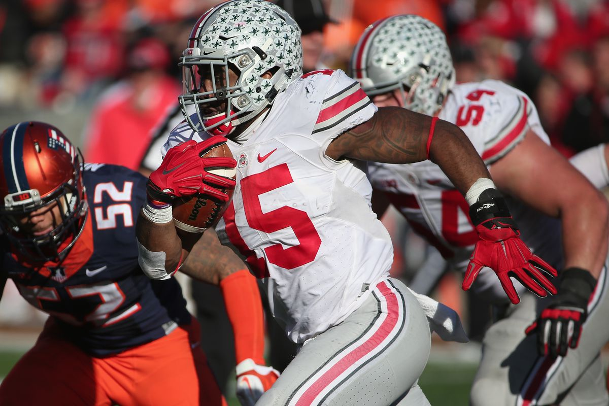 Zeke and the Buckeyes look to solidify their spot in the playoffs against Michigan State.