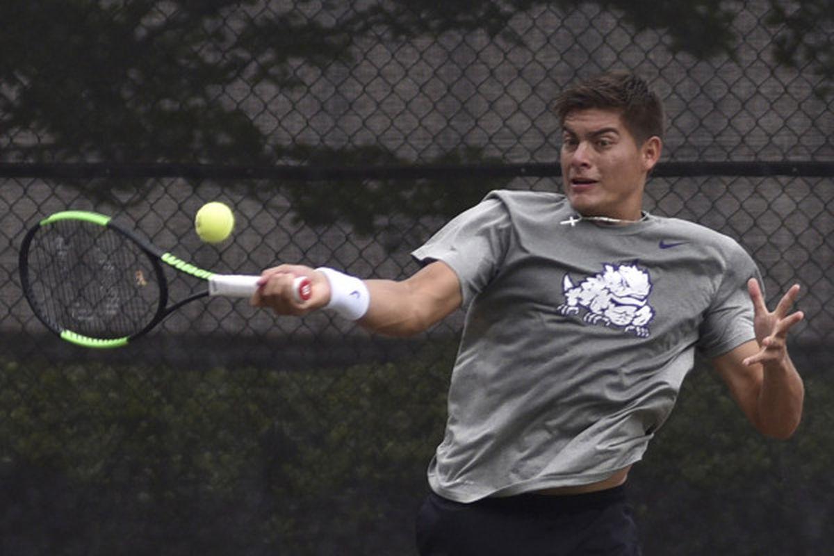 TCU Men's Tennis - Jerry Lopez