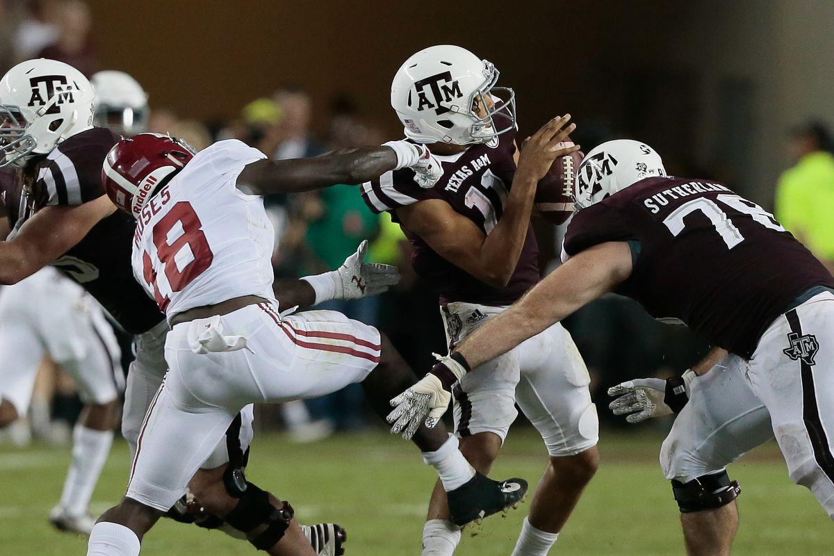 Predicting 2020 Sec Football Season Texas A M Aggies Alabama Week 2 Opponent Roll Bama Roll