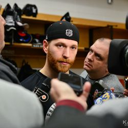 Giroux in a post-game interview
