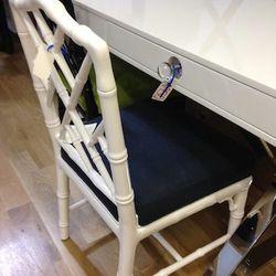 Desk, $950. Chair, $250