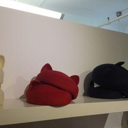 Caterina hats, $95