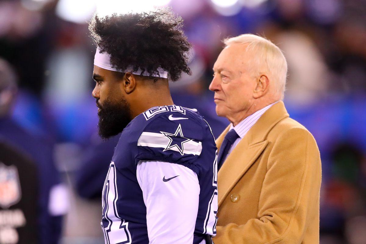 NFL: NOV 04 Cowboys at Giants