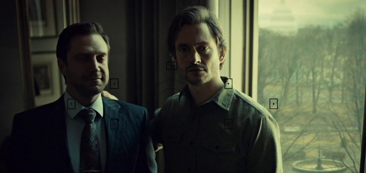 Will and Chilton pose for the camera.