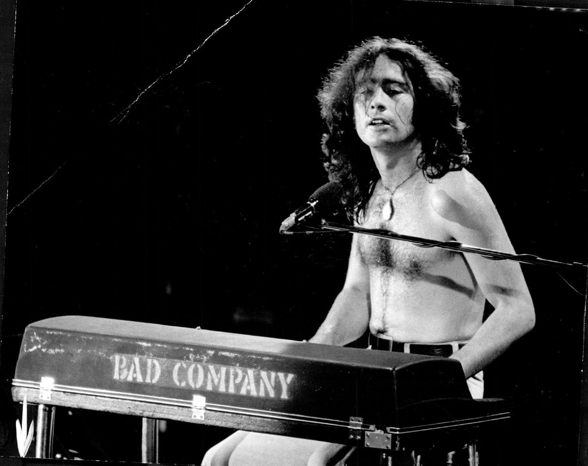 Paul Rodgers performs with Bad Company in 1975. | SUN-TIMES FILE