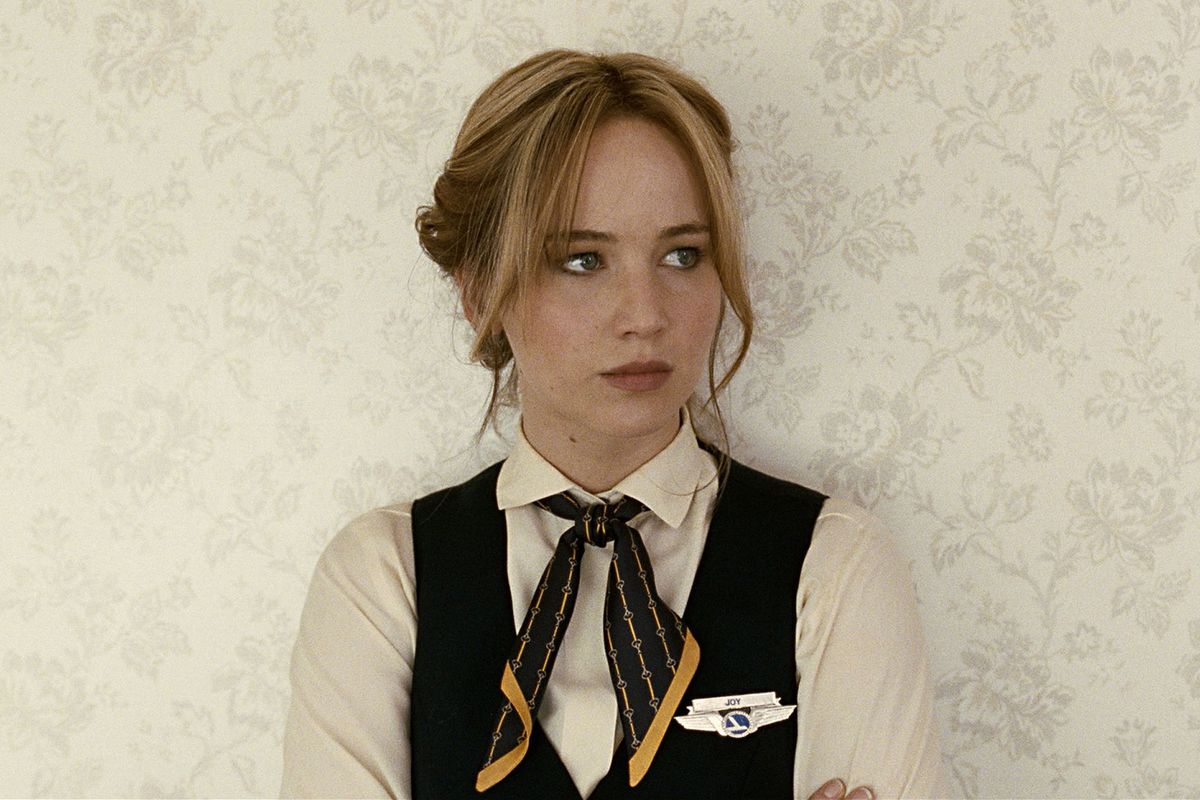 Jennifer Lawrence will probably be nominated for Joy. But maybe I'm cursing her by putting this picture atop this article? One never knows!