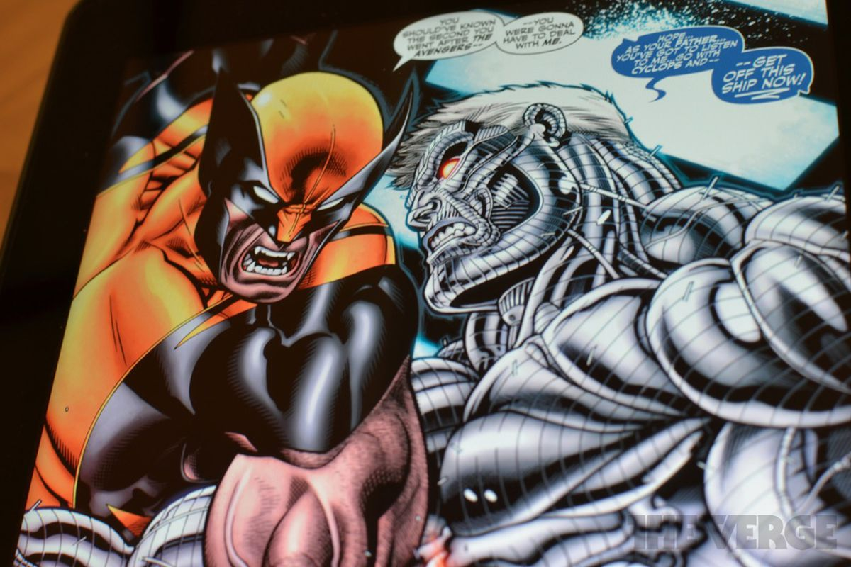 Gallery Photo: Comics for iOS CMX-HD format hands-on