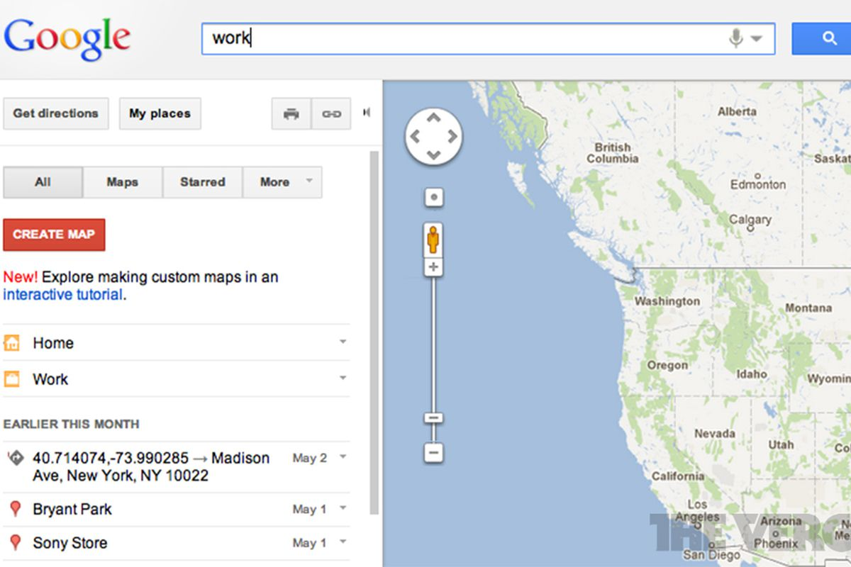 Google Maps adds quick shortcuts to 'home' and 'work' - The ... on google now for desktop, google calendar for desktop, google toolbar for desktop, google app for desktop, google drive for desktop, google play store for desktop, google maps for windows 8, google world clock for desktop, apple maps for desktop, google maps for windows phone, google maps for iphone, google gadgets for desktop, google maps for android,
