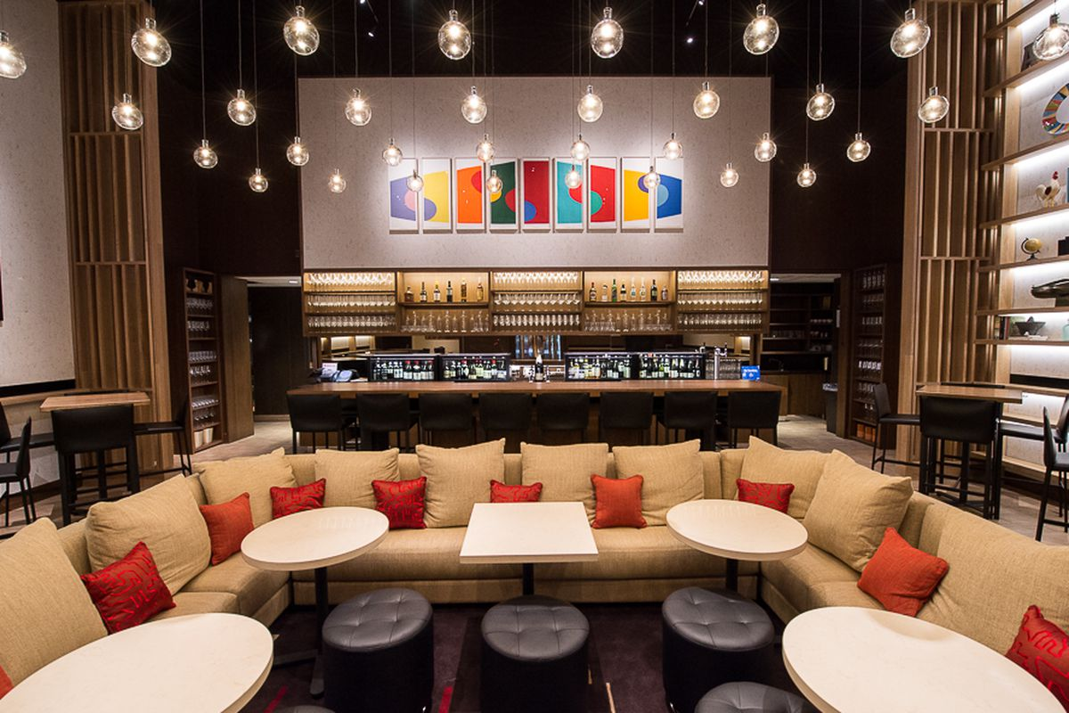 [Aldo Sohm Wine Bar. A fine place to head to after work today.]