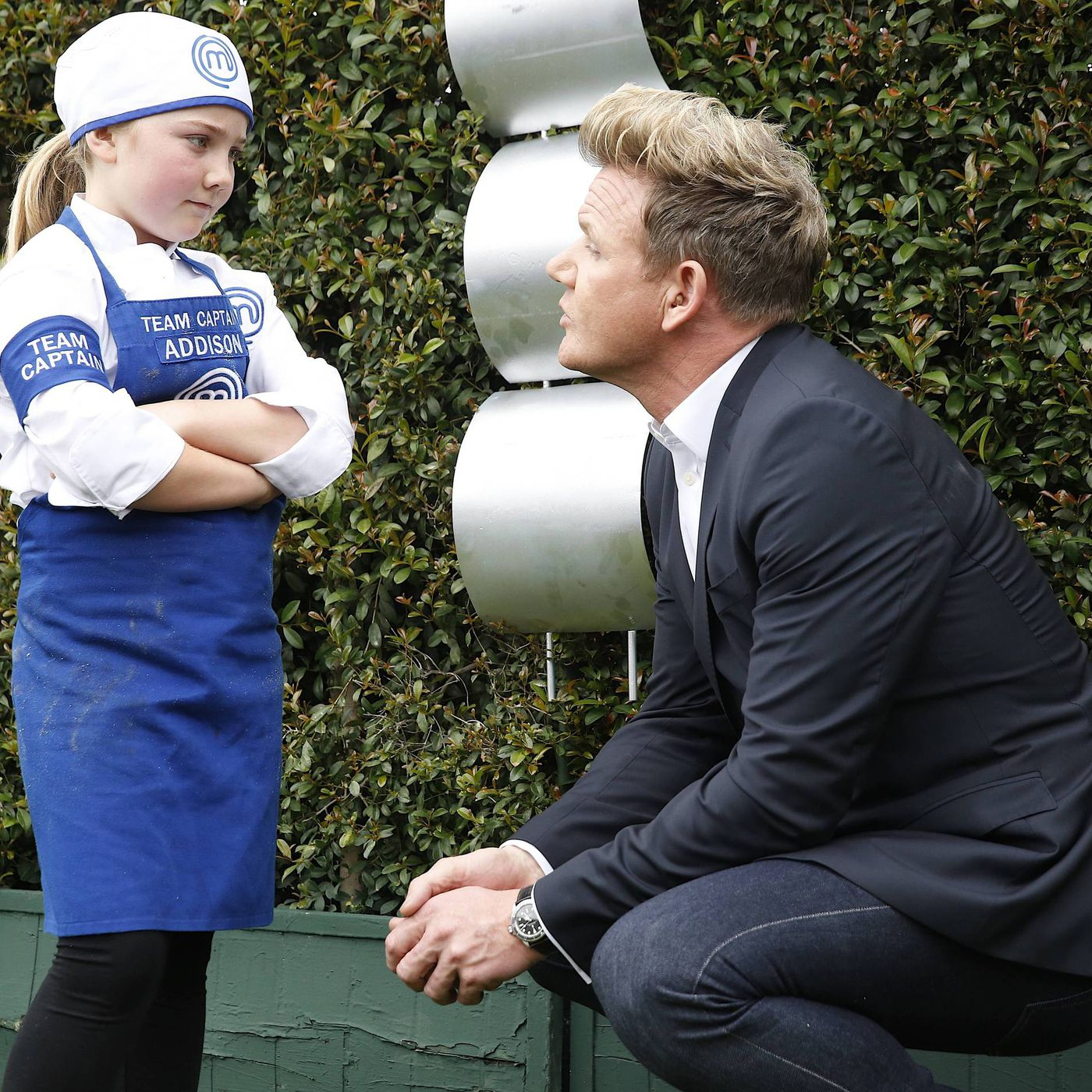 Masterchef Junior Season 4 Episode 9 Gordon Ramsay Gets Burned Eater