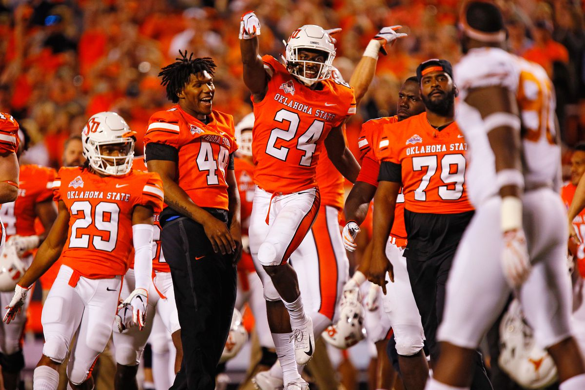 03820ea0452e 10 Thoughts on Oklahoma State s Win over Texas - Cowboys Ride For Free