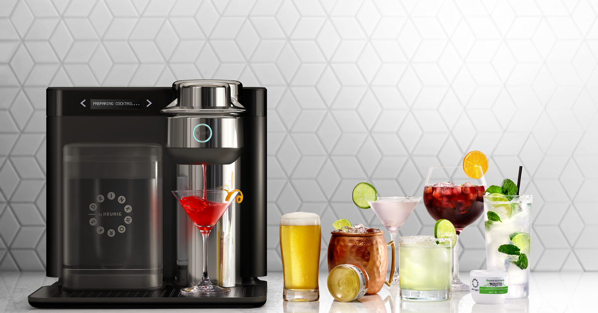 Keurig Launches a Cocktail-making Pod Machine