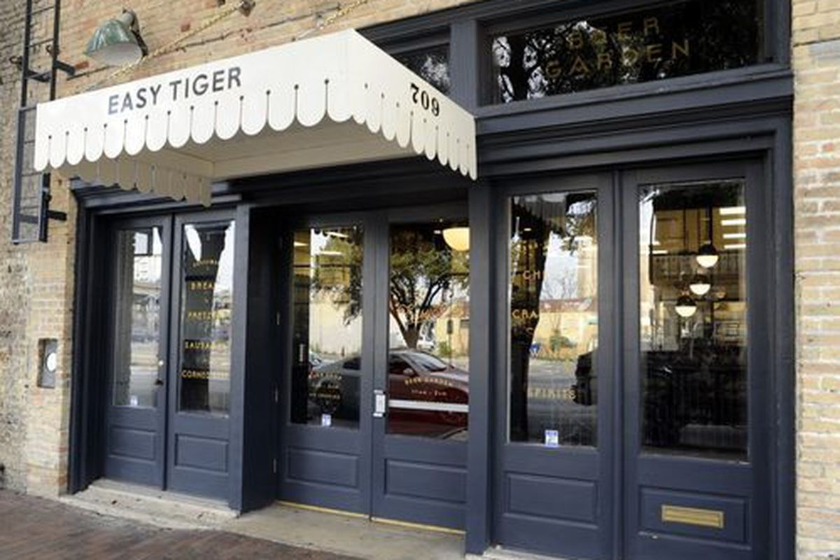 Easy Tiger in Austin, which just opened this week.