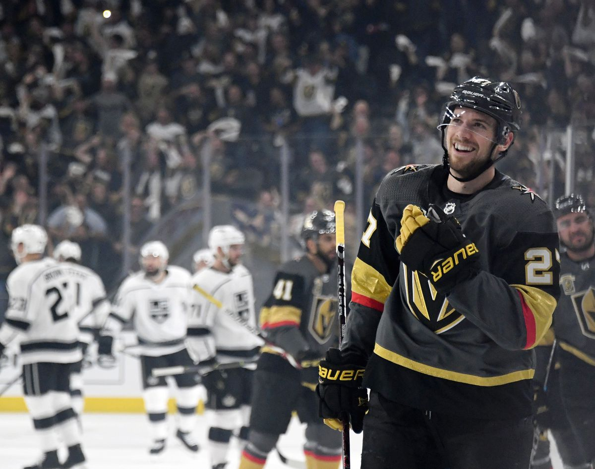 Los Angeles Kings v Vegas Golden Knights - Game One