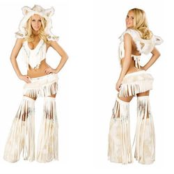 """This one is actually <a href=""""http://www.sexywearavenue.com/white-indian-top-skirt-jv-cs220.html"""">titled</a> """"White Indian."""""""