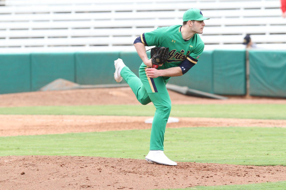 official photos b53eb f146a Notre Dame Baseball Wins Two of Four at Swig and Swine ...