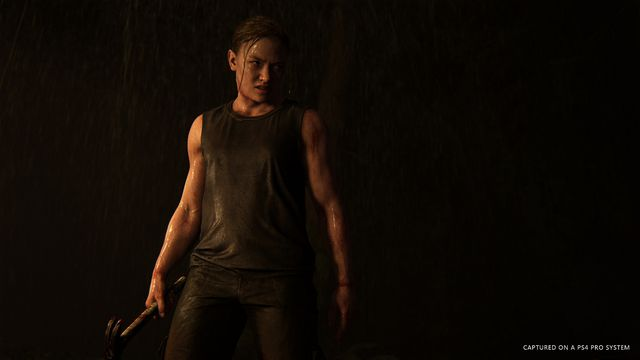 Abby in The Last of Us Part 2
