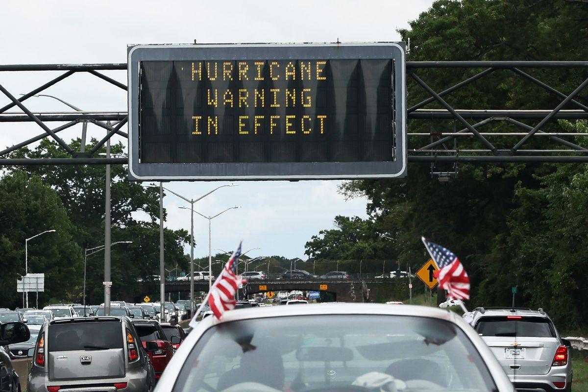 Hurricane Henri Tracks Towards Coast Of Northeast