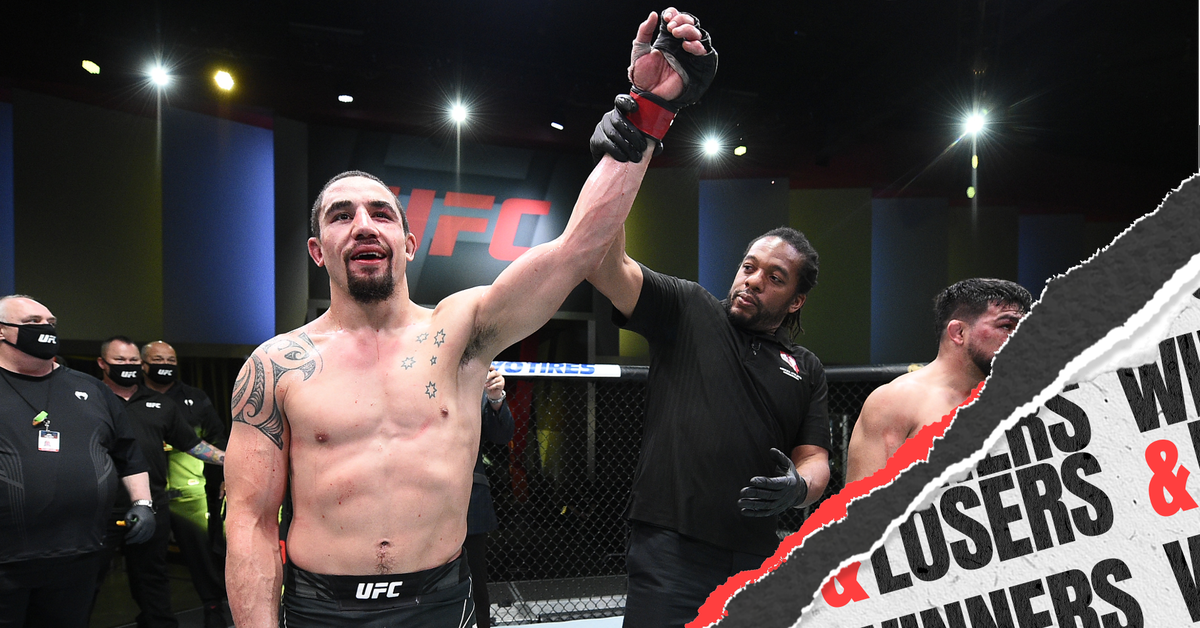 UFC Vegas 24: Whittaker vs. Gastelum - Winners and Losers - Bloody Elbow