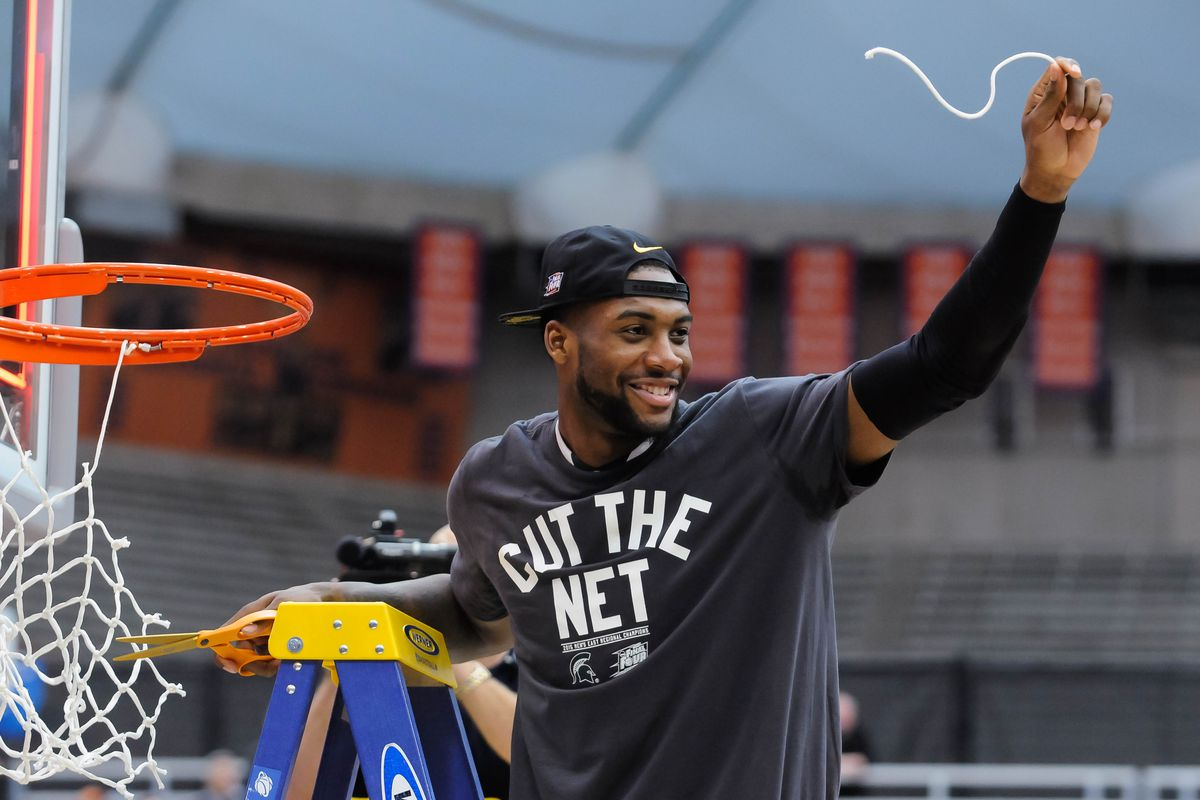 Branden Dawson capped his NCAA career with a Final Four and has the chance to start his NBA career with a title contender.